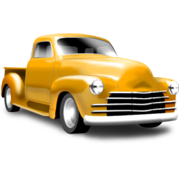 Yellow Pickup Vector Icons Free Download In Svg Png Format