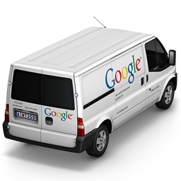256x256px size png icon of Google Van Back