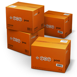 256x256px size png icon of TNT Shipping Box