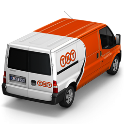 256x256px size png icon of TNT Van Back