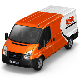 256x256px size png icon of TNT Van Front
