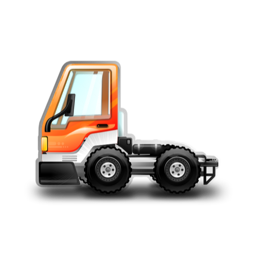 256x256px size png icon of City Truck