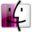 32x32px size png icon of Finder pink