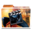 32x32px size png icon of White Movies Alt