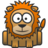 48x48px size png icon of lion