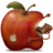 48x48px size png icon of redApple