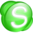 48x48px size png icon of Skype green
