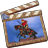 48x48px size png icon of Movie App