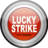 48x48px size png icon of Lucky Strike Lights Grey