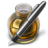 48x48px size png icon of Fire w silver pen