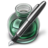 48x48px size png icon of Green w silver pen