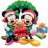 48x48px size png icon of Mickey Mouse Christmas