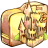 48x48px size png icon of Folder castle