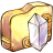 48x48px size png icon of Folder crystal