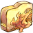48x48px size png icon of Folder ele fire