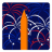48x48px size png icon of Independence Day 4 Fireworks