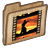 48x48px size png icon of Folder Movie