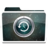 48x48px size png icon of White TimeMachine Alt