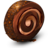 48x48px size png icon of Chocolate Cream Roll