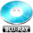 48x48px size png icon of Blu ray
