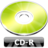 48x48px size png icon of CD R