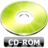 48x48px size png icon of CD ROM