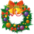 48x48px size png icon of christmas wreath