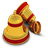 48x48px size png icon of Xmas Bells