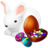 48x48px size png icon of Easter Bunny