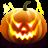 48x48px size png icon of Jack O Lantern