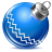 48x48px size png icon of ball blue 1