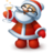 48x48px size png icon of Happy Santa