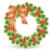 48x48px size png icon of Xmas wreath