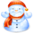 48x48px size png icon of snowman
