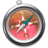 48x48px size png icon of Safari roze