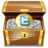 48x48px size png icon of twitter treasure