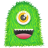 48x48px size png icon of Green Monster