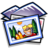 48x48px size png icon of Folder Pictures
