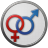 48x48px size png icon of Sex Male Female Circled