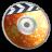 48x48px size png icon of iDVD Orange Soda