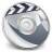 48x48px size png icon of iDVD Steel 01