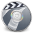 48x48px size png icon of iDVD Steel 03