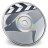 48x48px size png icon of iDVD Steel 04