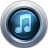 48x48px size png icon of iTunes10 Graphite
