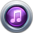 48x48px size png icon of iTunes10 Purple