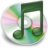48x48px size png icon of iTunes groen 2
