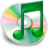 48x48px size png icon of iTunes groen