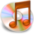 48x48px size png icon of iTunes oranje 2