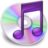48x48px size png icon of iTunes paars 2