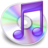 48x48px size png icon of iTunes paars